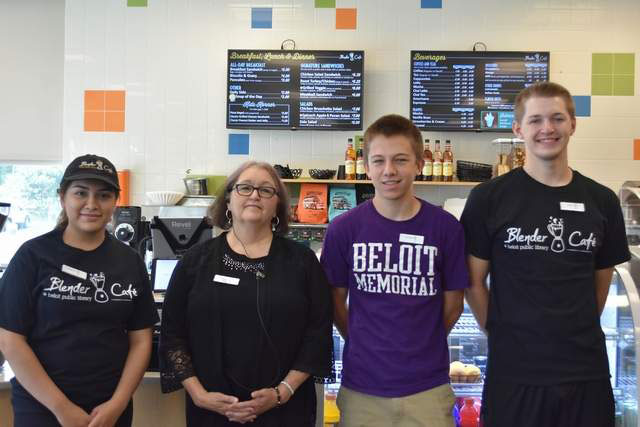 Blender Cafe Anniversary | Beloit Daily News Pic